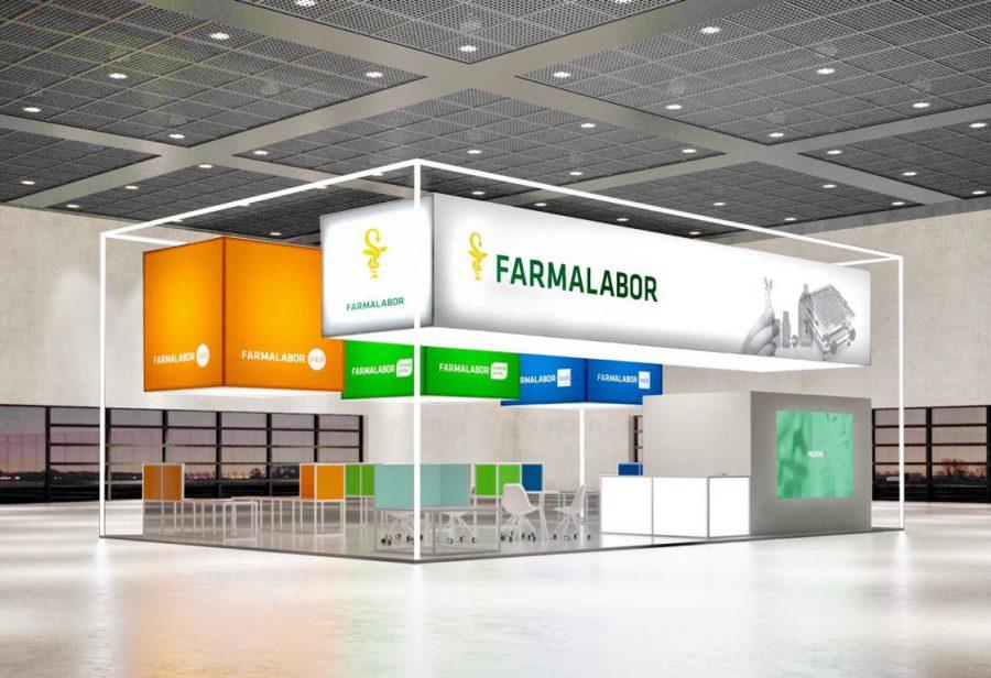 Farmalabor – Stand Cosmofarma 2017 – L'Arancia